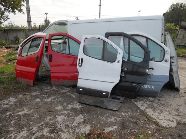 Дверь передняя на Renault Trafic, Opel Vivaro, Nissan Primastar