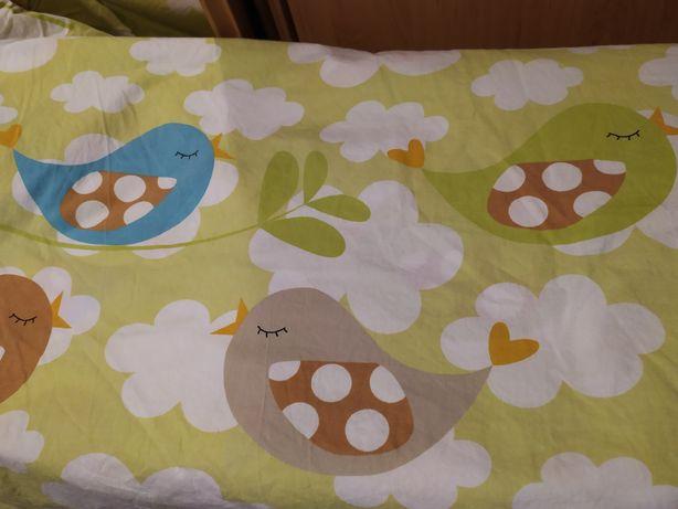 Zestaw: Dwie pościele dziecięce + kołdra poduszka 135 / 100
