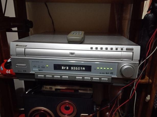 Radio, gravador e CD
