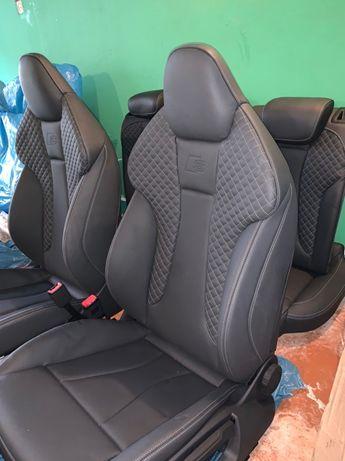 Салон Audi A3 S3 Сиденье Ауди А3 С3 Ковши Сидение A3 Fotele Сидіння