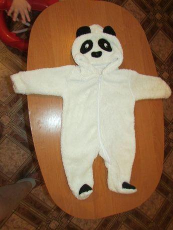 Человечек махровый панда