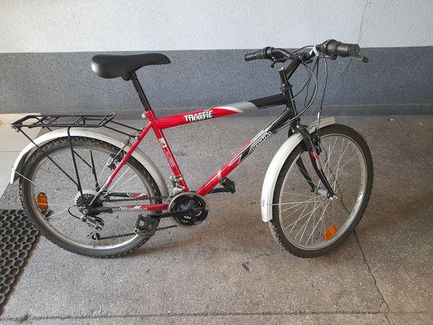 """2 rowery na kolach 24"""" zamienie"""