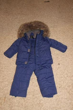 Продам зимний детский комбинезон, мальчик 92-98