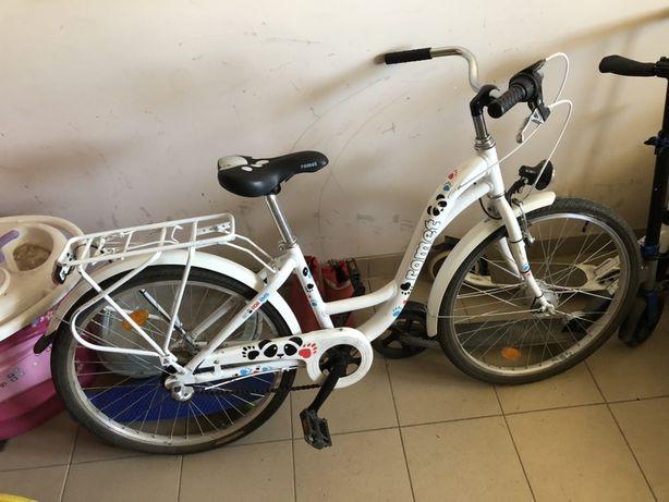 Rower Romet 24 dla dziewczynki