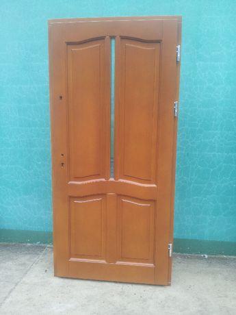 - 40 % Wyprzedaż Ekspozycji Drzwi Drewniane 70 mm Zewnętrzne 100 x 210