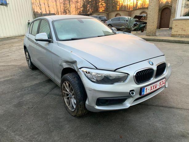 BMW 114d uszkodzone
