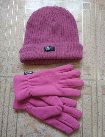 Шапка та рукавиці з технологією Thinsulate