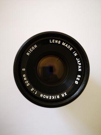 Lente xr Rikenon 1.2 50 mm