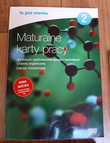 Maturalne karty pracy 2 to jest chemia nowa era nowa matura
