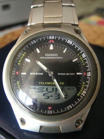 Męski zegarek Casio AW80 Illuminator z bransoletą I wł M30 WR50m IDEAŁ