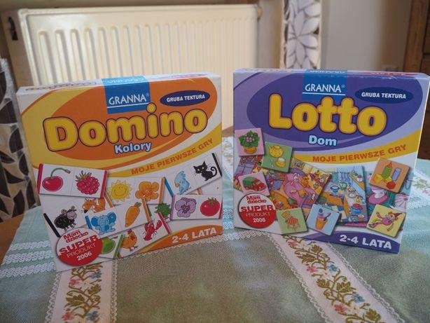 Gry GRANNA (Domino,Lotto), 2-4 lata