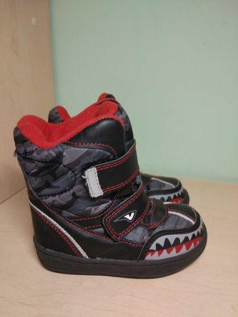 Сапоги ботинки зимние для мальчика