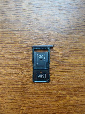Tacka SIM szufladka Motorola X Force XT1580 XT1585 Czarna Nowa Orygina