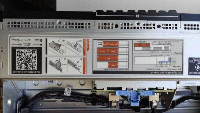 Продам Сервер Dell R720, 2x E5-2667, 128Gb RAM, 4x SSD 512Gb, HDD 2Tb