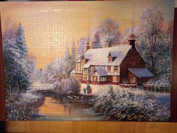 Puzzle Trefl 3000 Winter Time