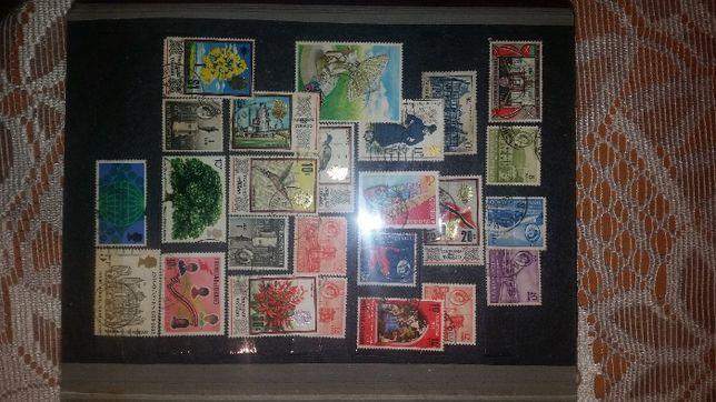 znaczki pocztowe znaczek pocztowy klaser kolekcja swiat Trynidad