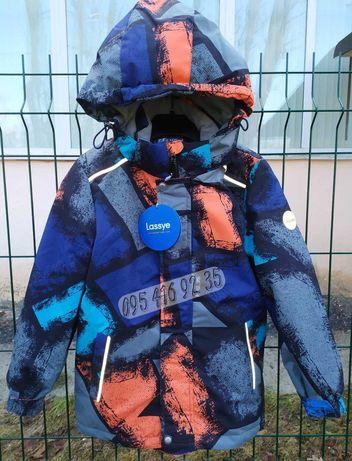 Подростковая термо деми куртка lassye для мальчика 116-140 видео