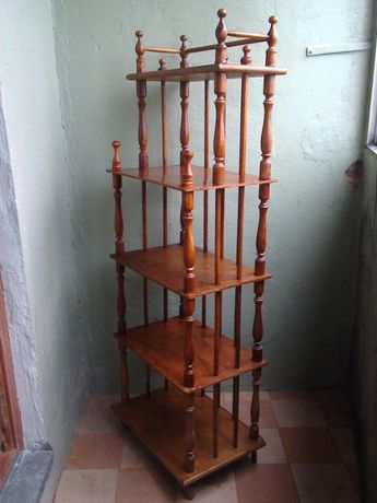 Этажерка-тумбочка-полочка (старинная, антикварная)