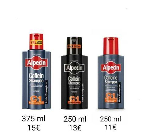 Shampoo Alpecin C1-250 ml Queda de cabelo, complementar do Minoxidil