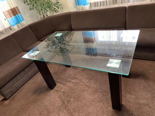 Szklany stół TEMPERED