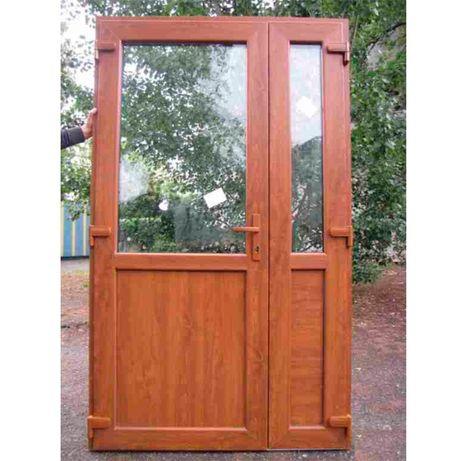 -ZŁOTY DĄB 125x210 drzwi PCV *Nowe*