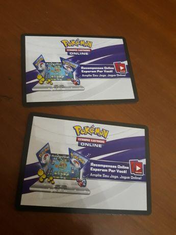 Vendo codes online de cartas pokemon cartas Magic, Vs System, e outras