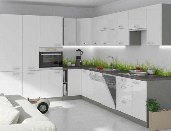 Nowoczesna Kuchnia meble kuchenne IGA 4 kolory polysk MDF MODUŁOWA HIT