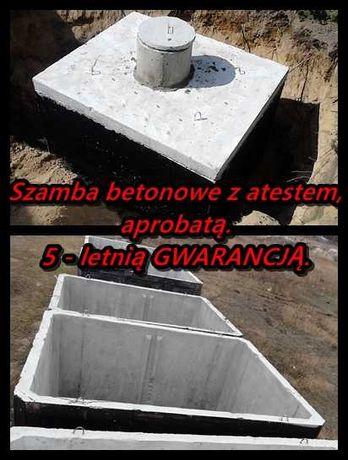 Zbiornik Betonowy 13m3 Szambo Deszczówkę Gnojówkę Kanał Samochodowy