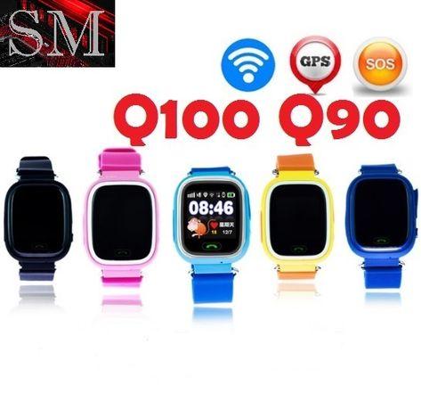 Smart Baby Watch Q100 (Q90), Умные детские часы с GPS