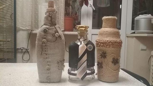бутылки сувенирные для бара