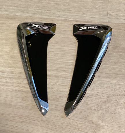 Накладки жабры BMW X5 F15 F85