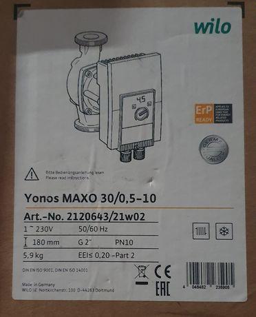 Pompa WILO YONOS MAXO 30/0,5-10