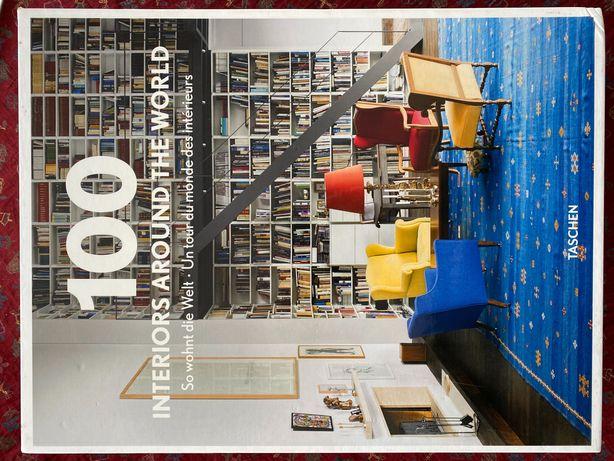 Design wnętrz: 100 interiors around the world II tomy w kartonie