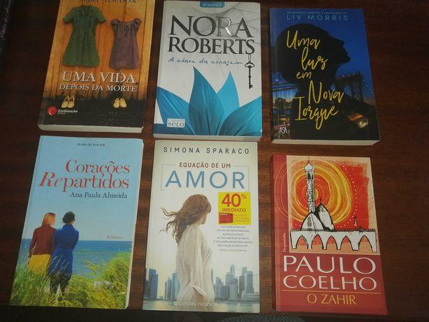 Nora Robert's, Liv Morris, Paulo Coelho, Simona Sparaco, Mary Loudon