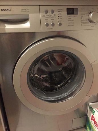 Maquina de Lavar Roupa Bosch Inox Serie 6
