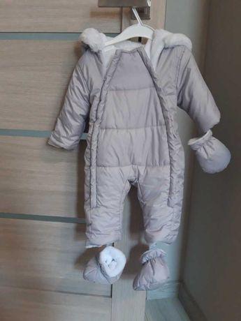 Śpiworek na zimę dla niemowlęcia