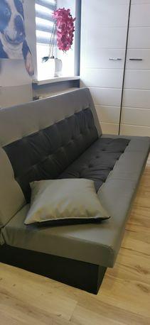 Kanapa sofa ekoskóra rozkladana