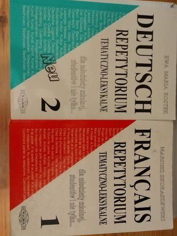 Repozytorium tematyczno-leksykalne Deutsch 2, Francais 1