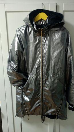 Ветровка курточка дождевик утеплённый р.152