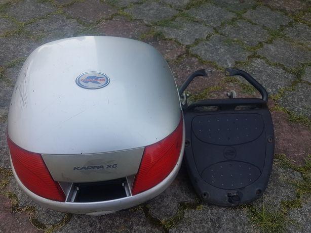 Kufer do skutera Kappa ze stelażem