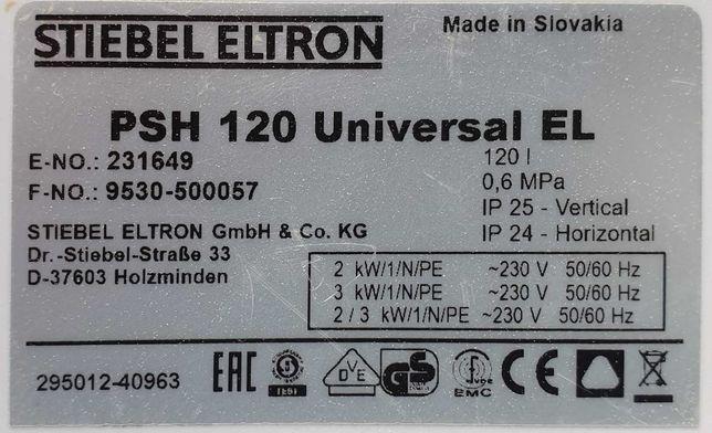 Boiler Stiebel Eltron PHS 120 Universal EL, używany 4 miesiące