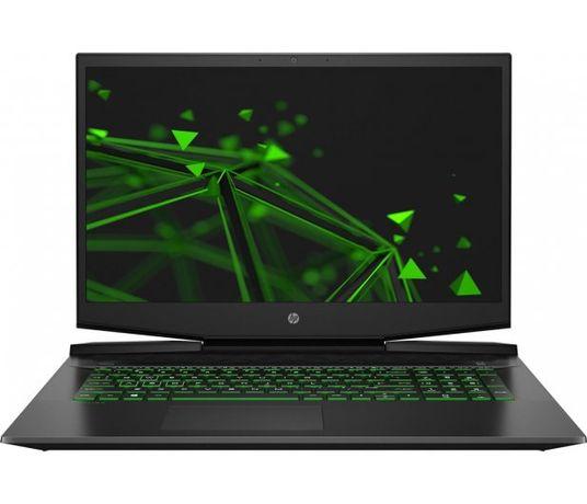 """Duży 17,3"""" 144Hz HP Gaming i5-10gen 16G/512G GTX 1650Ti NOWY"""