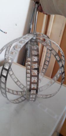 Luminária cor prata