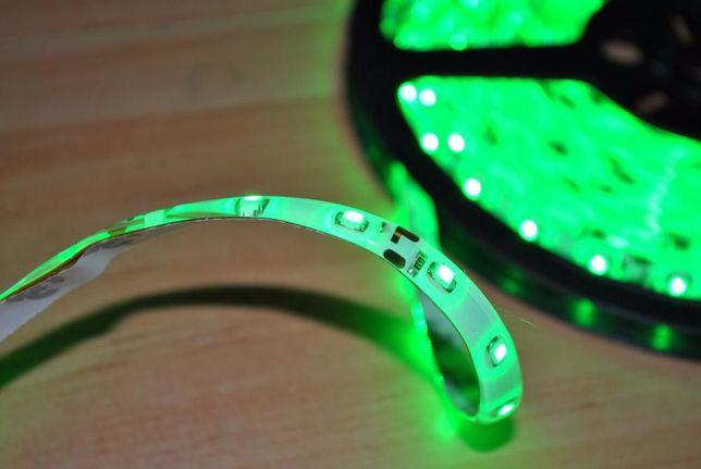 Fita de Leds - LED - Verde - 5 metros - Resistente á Água
