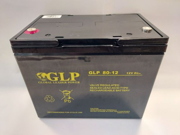 Akumulator 12V AGM 80Ah VRLA Global Leader Power