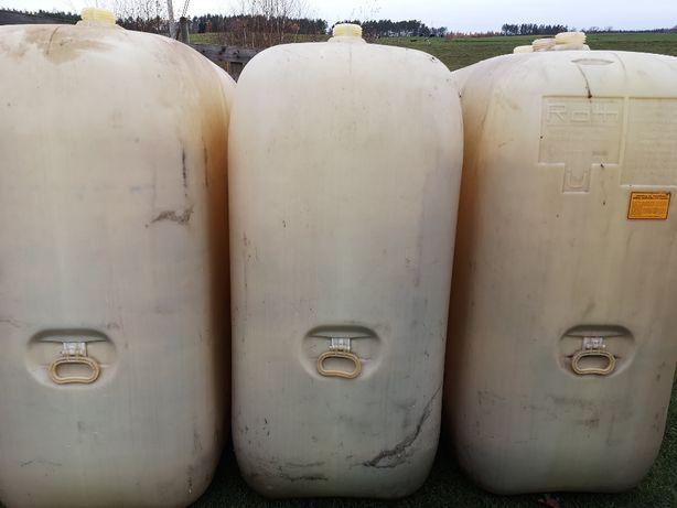Zbiornik , pojemnik na olej napędowy , wodę , deszczówkę 1500L
