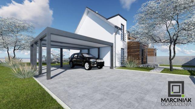 Carport wiata samochodowa garażowa zadaszenie