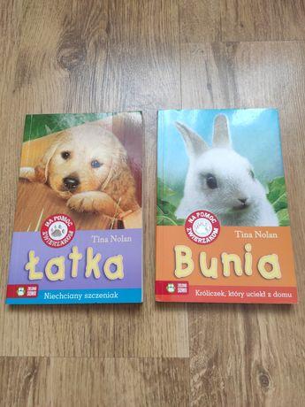 Na pomoc zwierzakom szczeniak i królik Tina Nolan