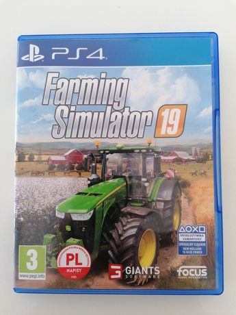 Farming simulator 19 PL ps4