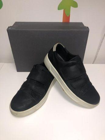 Детские полуботинки - туфли ECCO р.39 по стельке 25 см.